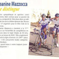 Jeanine gagne les Bosses 2006!