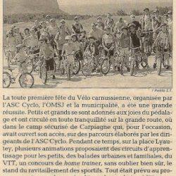 La Fête du Vélo 2009 dans la presse