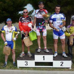 Les Podiums du Critérium de Carnoux 2010