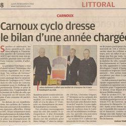 Article paru dans La Provence sur l'Assemblée 2010 de L' A.S.C.C