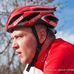 Johan en stage avec l'équipe Cofidis en Espagne - Décembre 2011