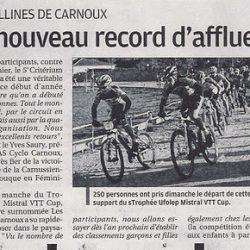 Articles sur la Provence du mardi 17 janvier 2012