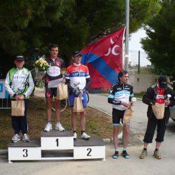 Les résultats du Critérium de Carnoux 2012