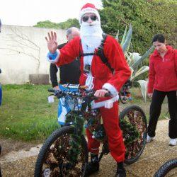 La Chasse au Trésor de fin d'année en compagnie du Père Noël ! 2013