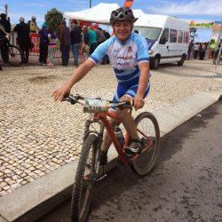Carlos au départ du Marathon VTT Luso Galaico 2015 - Portugal - Dimanche 26 Avril