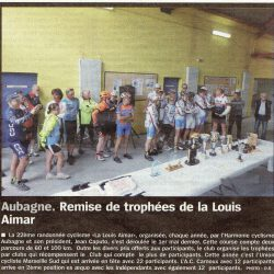 Rando Route La Louis Aimar 2015