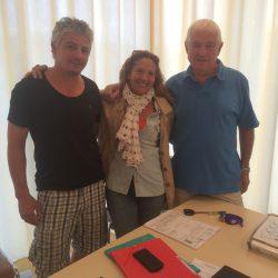 On fête la victoire de Jeanine sur la Risoul ! Vendredi 4 Septembre 2015