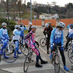 """Sortie Club Route """"Ollières"""" du Samedi 30 Janvier 2016"""