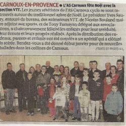 L'Arbre de Noël VTT Kids 2016