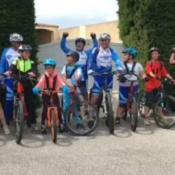 LA SECTION VTT ENCOURAGE L'OM