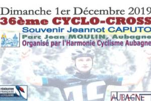 CYCLOCROSS DU 1ER DÉCEMBRE AU PARC JEAN MOULIN