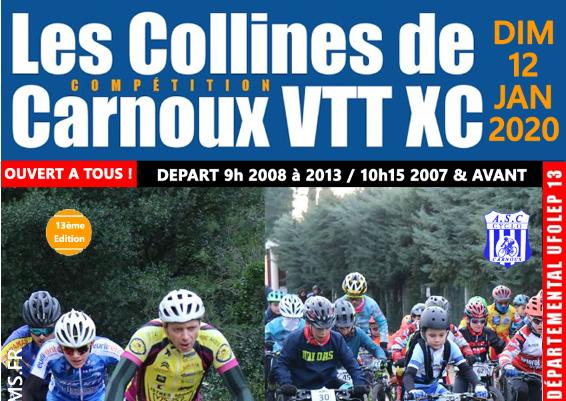 13EME EDITION DES COLLINES DE CARNOUX CE DIMANCHE